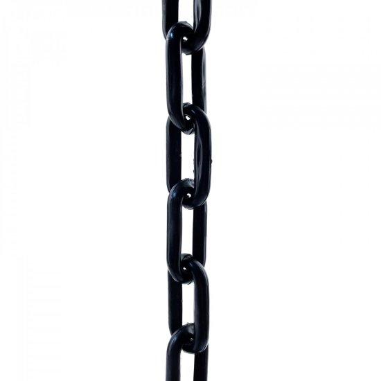 SVX Plastový řetěz černý 8mm 30 m