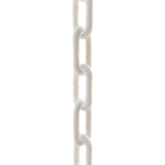 SVX Plastový řetěz bílý 6mm 30 m