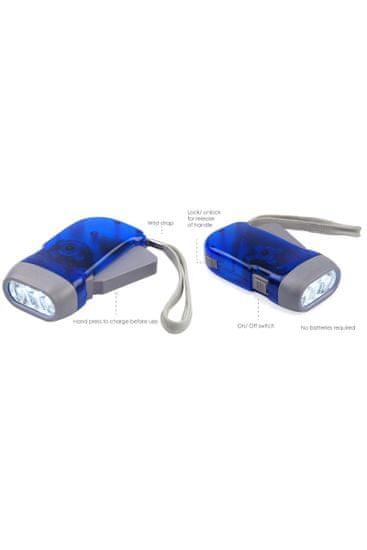 Velamp IN322 LED Dynamo baterka žľtá