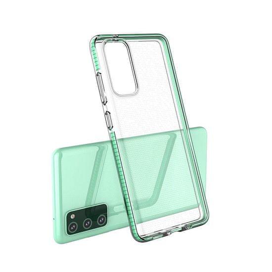 MG Spring Case silikonski ovitek za Xiaomi Redmi Note 10 Pro, svetloroza
