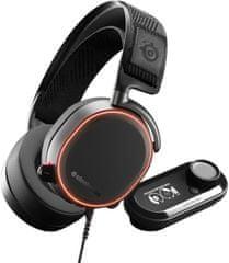 SteelSeries Arctis Pro (61453), čierna + GameDAC