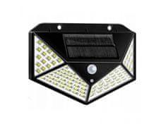 Solární LED světlo s čidlem pohybu, 100 LED