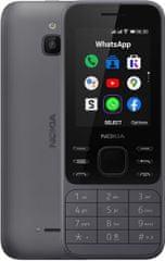 Nokia 6300 4G, Dual SIM, Charcoal