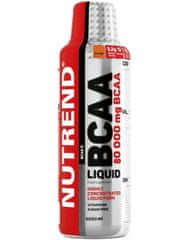 Nutrend BCAA Liquid 80.000 mg 1000 ml, pomaranč