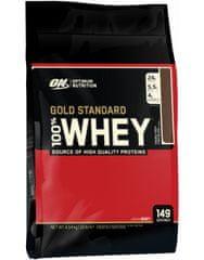 Optimum nutrition 100% Whey Gold Standard 4540 g, čokoláda