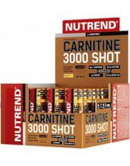 Nutrend Carnitine 3000 Shot 20 x 60 ml, pomeranč
