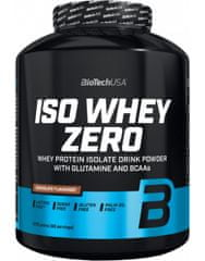 BioTech USA Iso Whey Zero 2270 g, bílá čokoláda