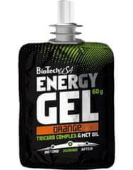 BioTech USA Energy Gel 60 g, broskev
