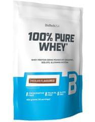 BioTech USA 100% Pure Whey 454 g, lískový ořech