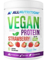 AllNutrition Vegan Protein 500 g, vanilka-černý rybíz