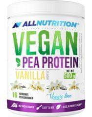 AllNutrition Vegan Pea Protein 500 g, slaný karamel