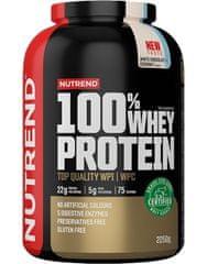 Nutrend 100% Whey Protein New 2250 g, ledová káva