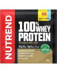 Nutrend 100% Whey Protein New 30 g, mango-vanilka