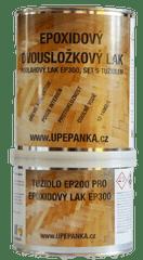 BARVY NA BETON Podlahový epoxidový dvousložkový lak EP300, SET s tužidlem, 0,75l