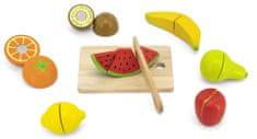 Viga leseno sadje z desko za rezanje