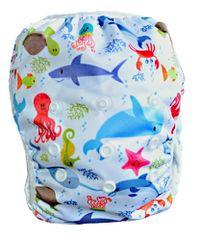 GaGa's pleny Plenkové plavky pro kojence i batolata Moře II