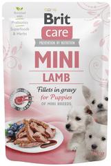 Brit Care Mini Puppy Lamb fillets in gravy 24x85 g