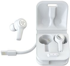 Jlab JBuds Air Executive True Wireless brezžične slušalke, bele