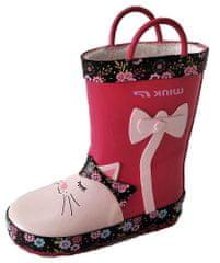 Wink dievčenské zateplené gumáky BD12505-1W 22 ružová