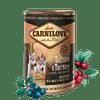 Carnilove Wild Meat Salmon & Turkey for Puppies 6x 400 g