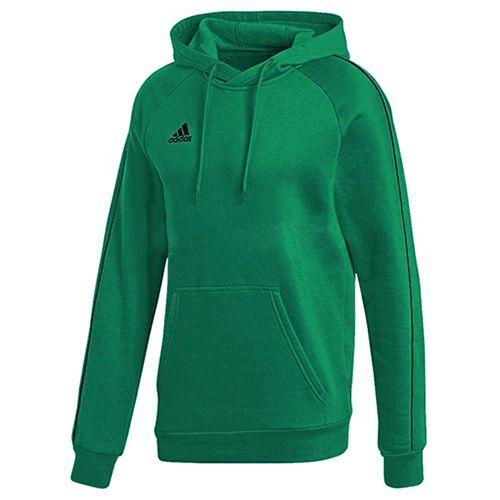 Adidas CORE18 BLUZA Z KAPTUREM Y ZIELONA, FS1893 | 128