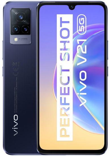 VIVO V21 5G, 8GB/128GB, Modrá Dusk