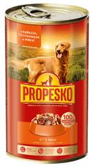 Propesko mokra hrana za pse, piletina, tjestenina i mrkva, 6x1240 g