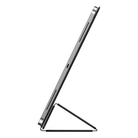 BASEUS Simplism bőr mágneses tok Apple iPad Air 10,9″ 2020 LTAPIPD-GSM01 készülékhez, fekete