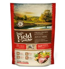 Sams' Field hrana za odrasle pse malih pasem, piščanec in krompir, 800 g