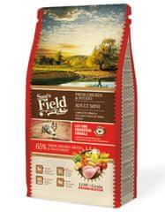 Sams' Field hrana za odrasle pse malih pasem, piščanec in krompir, 8 kg