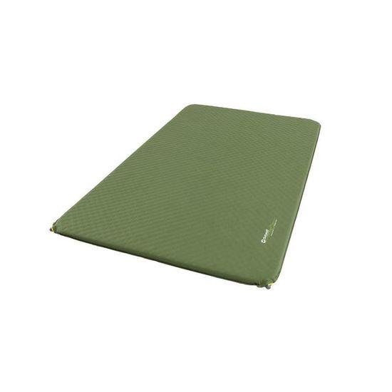 Outwell Dreamcatcher Double samonapihljiva blazina, zelena, 5 cm