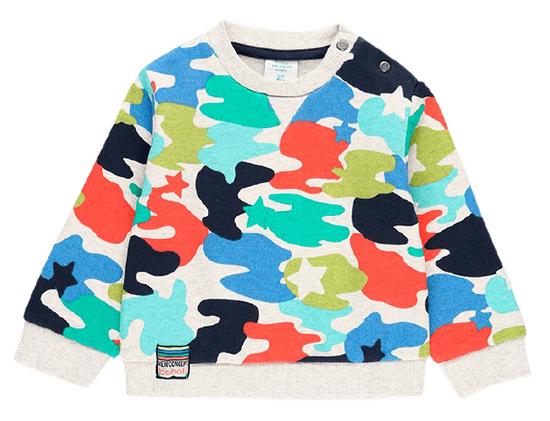 Boboli Kapucnis fiú pulóver Color Hikers