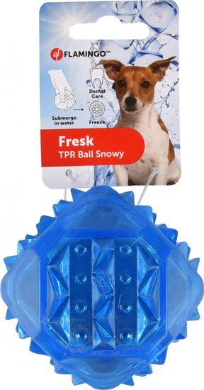 Flamingo Chladící hračka pro psy gumový míč 8cm