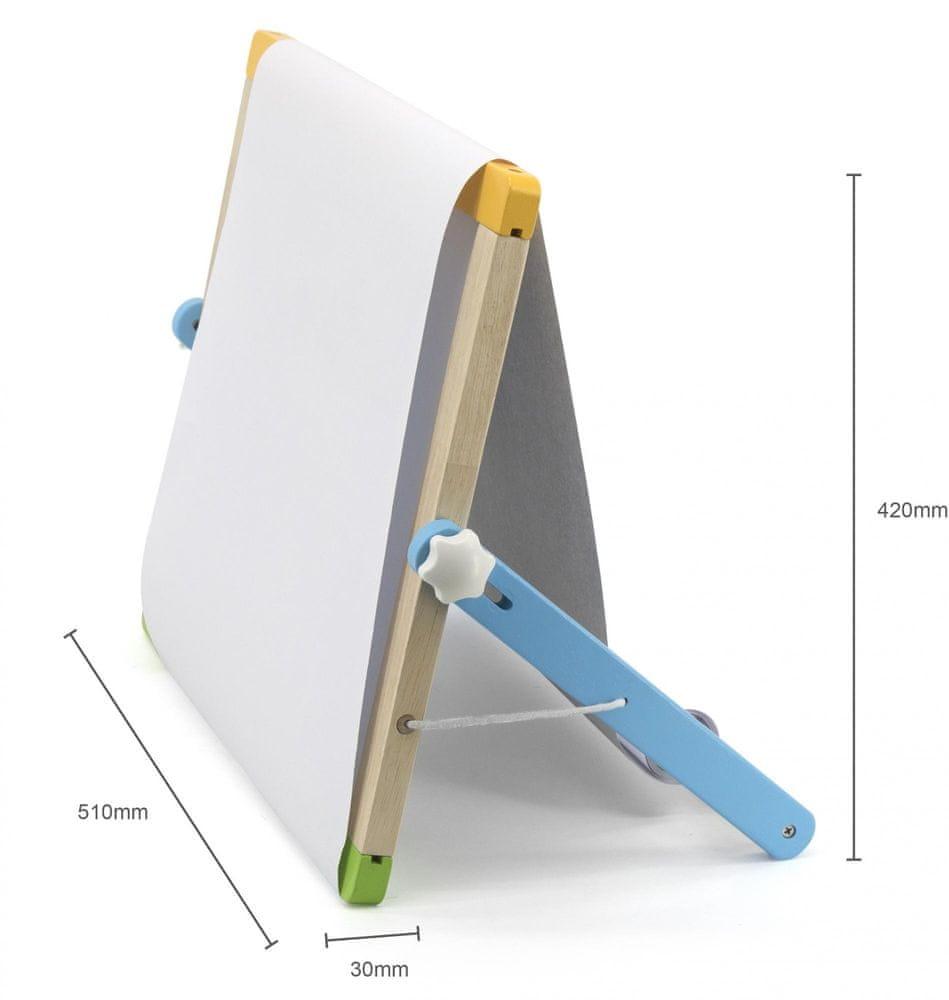 Viga Dřevěná magnetická tabule