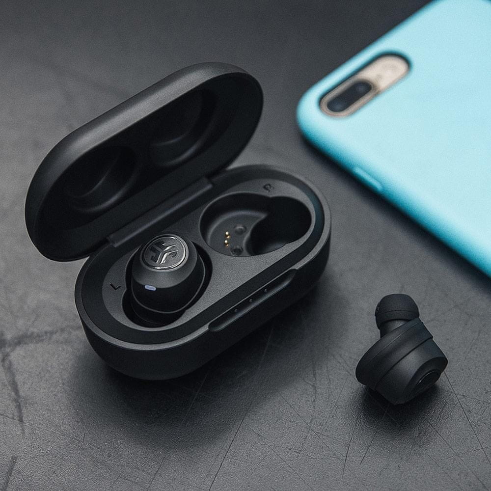 modern Bluetooth fejhallgató jlab air valódi vezeték nélküli, hangszínszabályzóval, tiszta hangzással, nagy teljesítményű, hosszú élettartamú töltődoboz, könnyű érintésérzékelőkkel