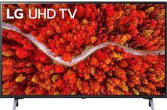 LG 55UP80003LA Smart LED TV, 139 cm, 4K Ultra HD, HDR, webOS ThinQ AI, Sötét szürke