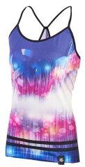 SportHG Ženska ''ultralight'' majica brez rokavov - SPIKE (vijola/bela)