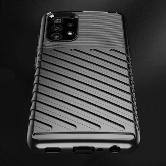 MG Thunder silikónový kryt na Samsung Galaxy A32 5G, čierny
