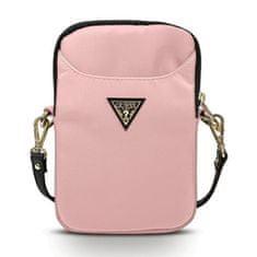 Guess Nylon Triangle torba 8'', roza