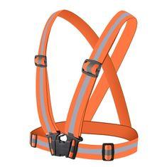MG Reflective odsevni tekaški telovnik, oranžna