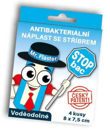 StopBac Sterile Aquastop 5 x 7,5 cm 4 ks