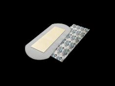 StopBac STERILE Normal antibakteriální krytí 10x20 cm