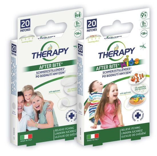 Therapy náplast po bodnutí hmyzem 20 ks Varianta: pro děti