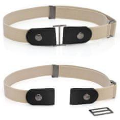 VivoVita Magic Belt -Nastavljiv pas brez zaponke, bež