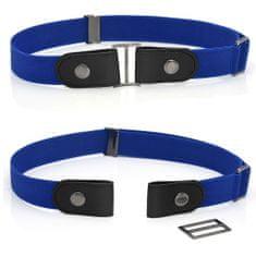 VivoVita Magic Belt -Nastavljiv pas brez zaponke, kraljevsko modra