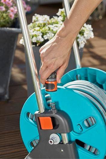 Gardena wózek na wąż ogrodowy AquaRoll S Set