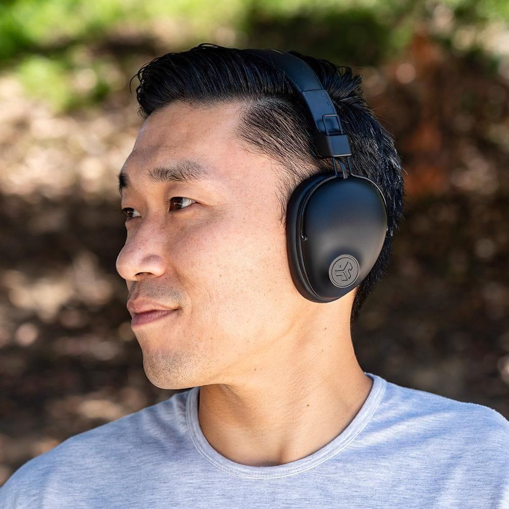 moderne Bluetooth slušalke jlab studio za brezžične ušesne slušalke z izenačevalnikom jasen zvok odlične zmogljivosti dolgo življenjsko dobo mikro USB kabel za polnjenje lahka tipka nadzor na lupinah udobno