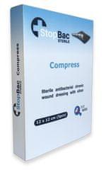 StopBac STERILE Kompres na chronické rány 12x12 cm 5 ks