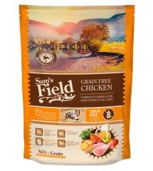 Sams' Field hrana za odrasle pse vseh pasem, brez žit, piščanec, 800 g