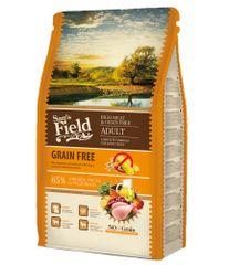 Sams' Field hrana za odrasle pse vseh pasem, brez žit, piščanec, 2,5 kg